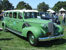 Highlight for Album: 1937 Cadillac 75 8-door Yosemite Bus