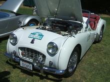 Highlight for Album: 1957 Triumph TR3A